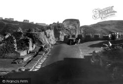 Tintagel, King Arthur's Castle, The Courtyard 1933