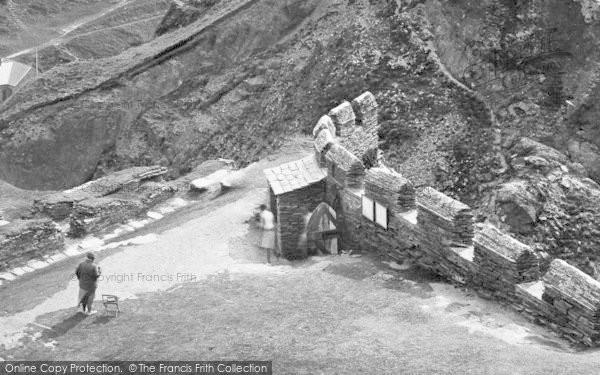 Photo of Tintagel, King Arthur's Castle, The Entrance 1936