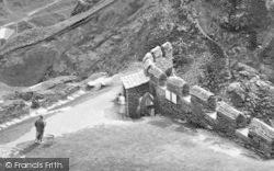 King Arthur's Castle, The Entrance 1936, Tintagel