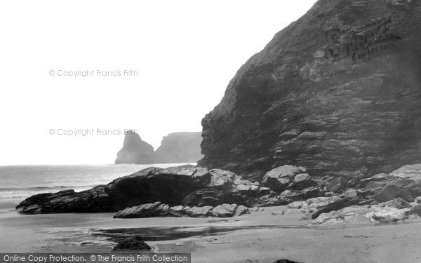 Photo of Tintagel, Long Island And Bossiney Cove c.1955