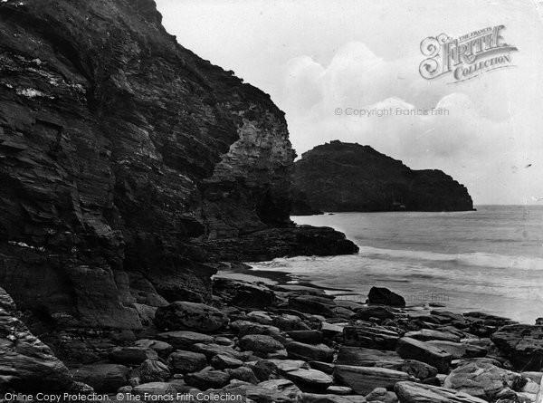 Photo of Tintagel, Lye Rocks And Bossiney Bay 1920