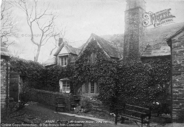 Photo of Tintagel, Mr Goard's House 1899