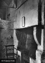 Old Post Office, Fireplace c.1910, Tintagel