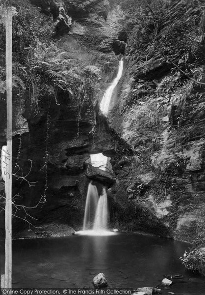 Photo of Tintagel, St Knighton's Kieve Fall 1894