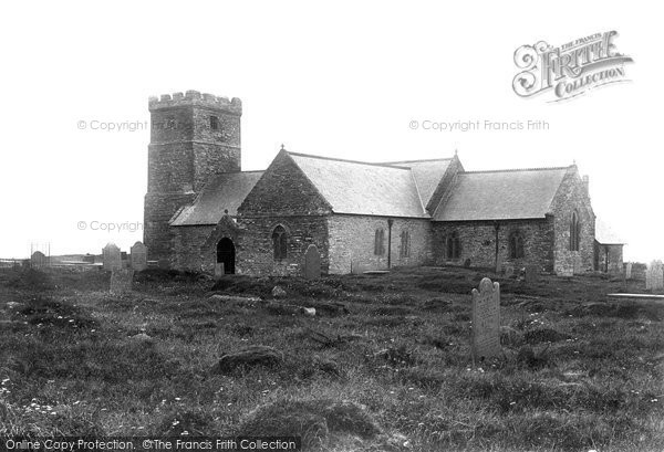 Photo of Tintagel, St Materiana's Church 1894