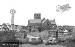 St Materiana's Church c.1955, Tintagel
