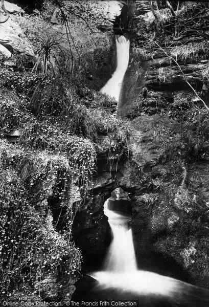 Photo of Tintagel, St Nectan's Kieve Fall 1894