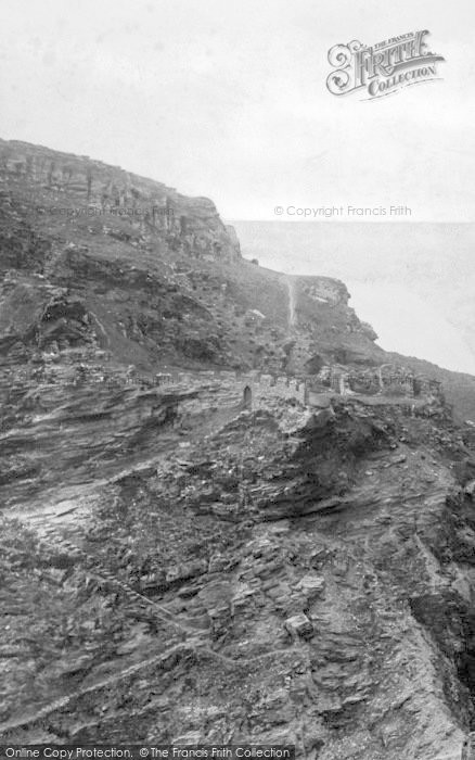 Photo of Tintagel, Steps To King Arthur's Castle 1894