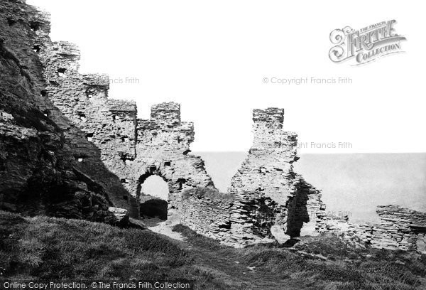 Photo of Tintagel, The Castle 1895