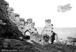 Tintagel, The Castle 1895
