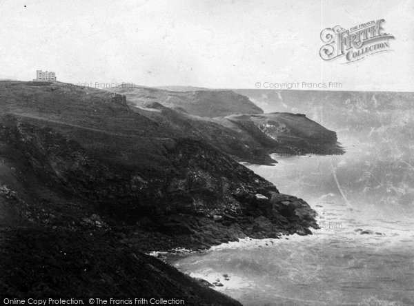 Photo of Tintagel, The Coast 1894