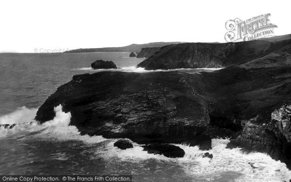 Photo of Tintagel, The Coast And Barras Head c.1955