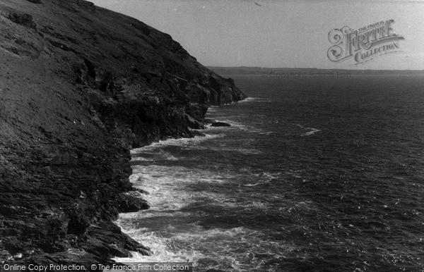 Photo of Tintagel, The Coast c.1955