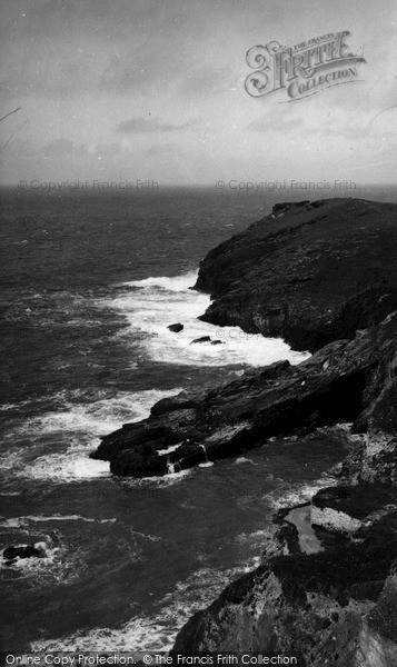 Photo of Tintagel, The Coast c.1960