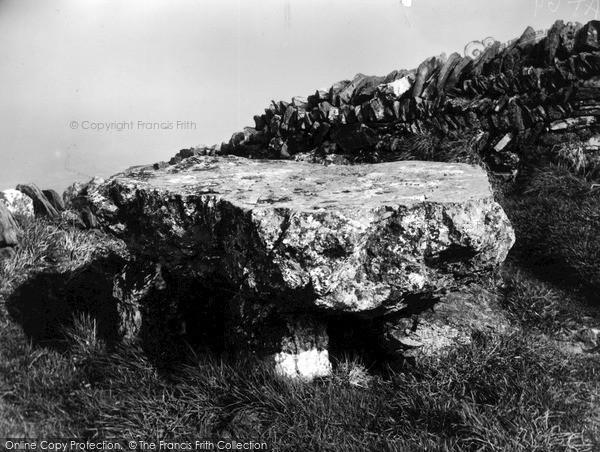 Photo of Tintagel, The Cromlech c.1955