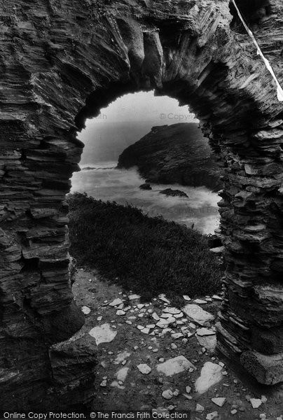 Photo of Tintagel, The Doorway, King Arthur's Castle 1920