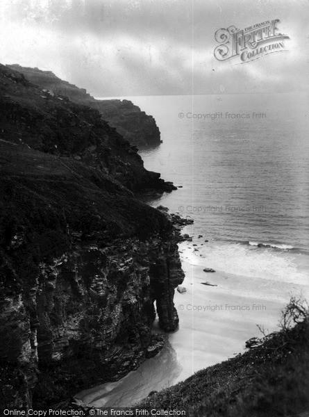 Photo of Tintagel, The Elephant And Lye Rocks, Bossiney Cove c.1955