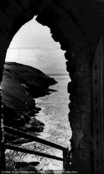 Photo of Tintagel, The Entrance To King Arthur's Castle c.1960