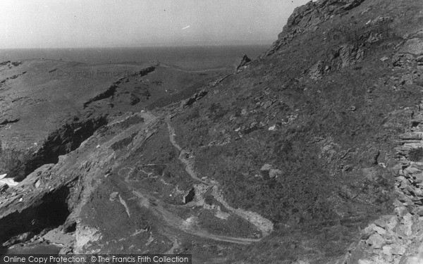 Photo of Tintagel, The Headland c.1955