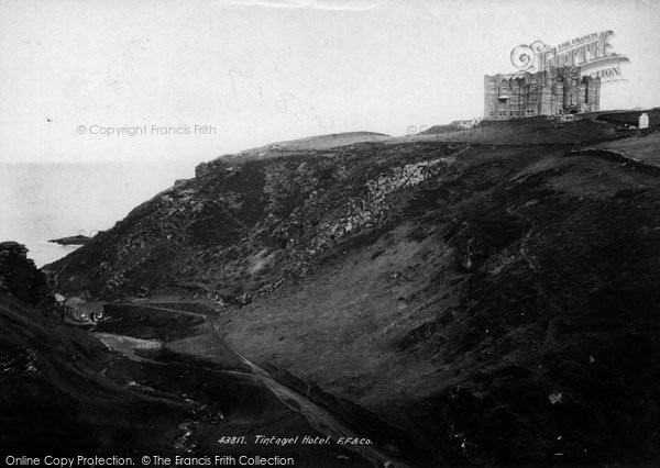 Photo of Tintagel, The Hotel 1899