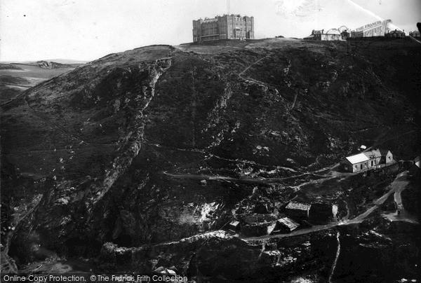 Photo of Tintagel, The Hotel c.1955