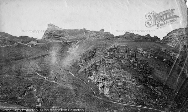 Photo of Tintagel, The Keep, King Arthur's Castle c.1871