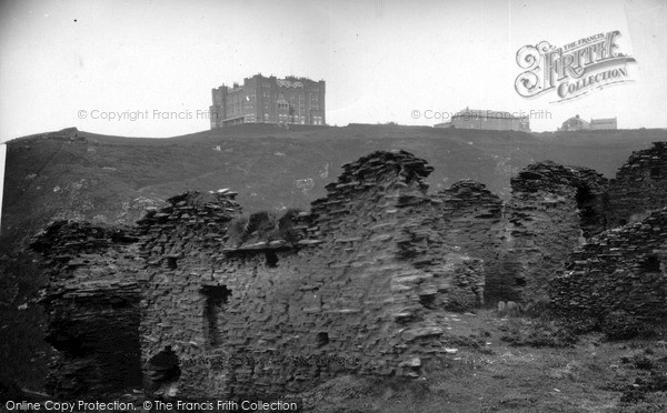Photo of Tintagel, The Kitchen, King Arthur's Castle c.1955