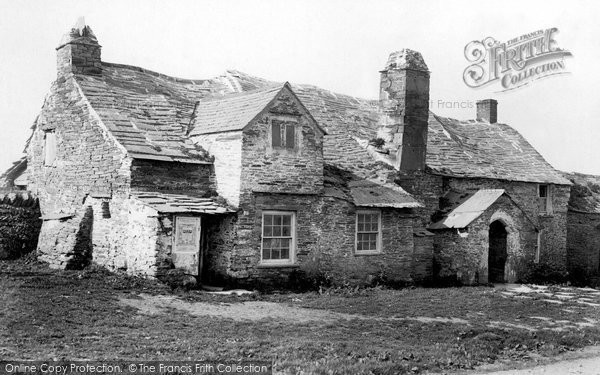 Photo of Tintagel, the Old Post Office 1895