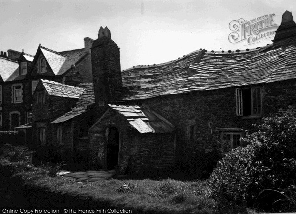 Photo of Tintagel, The Old Post Office c.1955