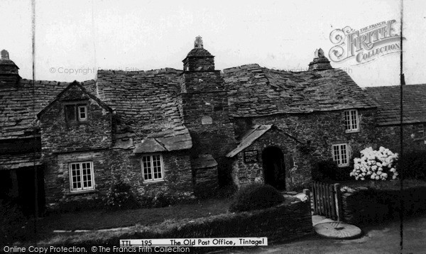 Photo of Tintagel, The Old Post Office c.1960
