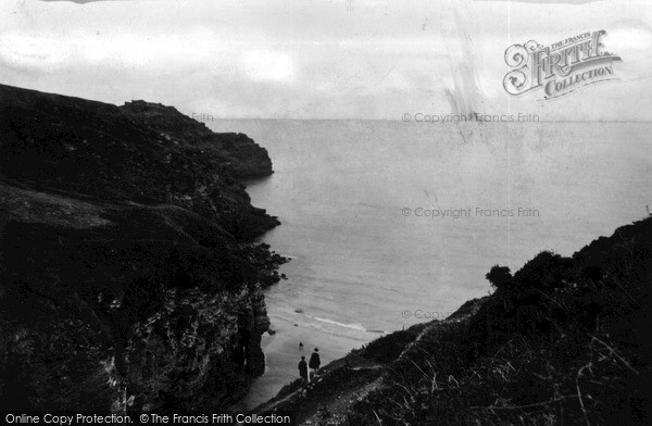 Photo of Tintagel, The Path To Bossiney Cove c.1955