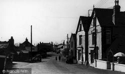Tintagel, The Street c.1955