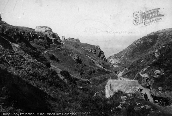 Photo of Tintagel, The Valley 1895