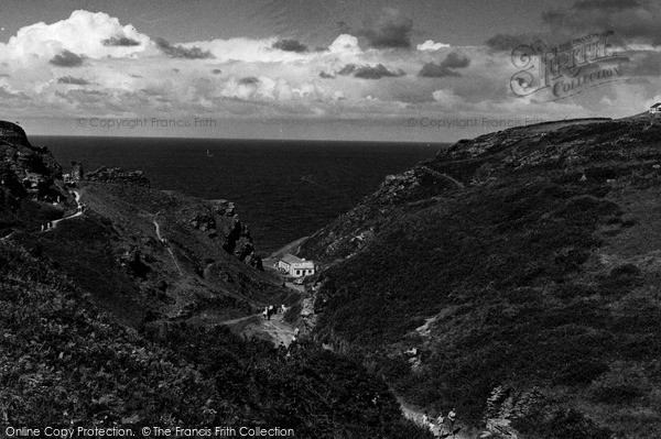 Photo of Tintagel, The Valley c.1960