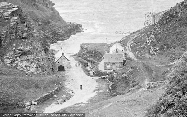 Photo of Tintagel, The Valley, Cottages 1920