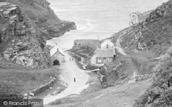 The Valley, Cottages 1920, Tintagel