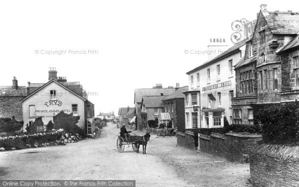 Photo of Tintagel, the Village 1906, ref. 56178