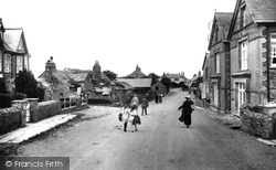 Tintagel, The Village And Post Office 1920