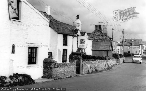 Photo of Tintagel, The Village c.1960