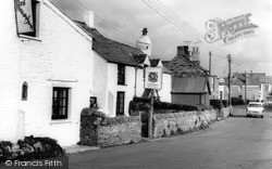 Tintagel, The Village c.1960