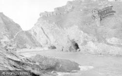 View From Barrow Head c.1900, Tintagel