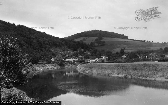 Photo of Tintern, A Valley View c.1935