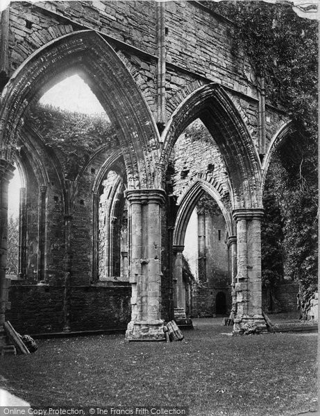 Photo of Tintern, Abbey Across Nave c.1874
