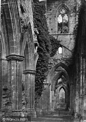 Tintern, Abbey Aisle Nave c.1878