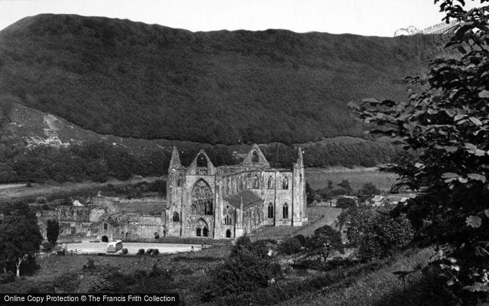 Photo of Tintern, Abbey c.1955
