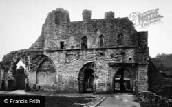 Tintern, Abbey, Cloister Court Looking North 1924