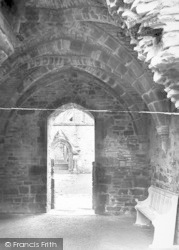 Tintern, Abbey, Entrance To Cloister Court 1924
