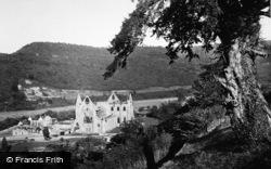 Tintern, Abbey From Chapel Hill 1914