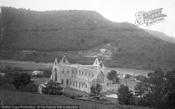 Photo of Tintern, Abbey From Chapel Hill 1914