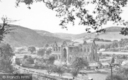 Tintern, Abbey From Chepstow Road c.1935
